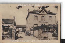 SAINT MICHEL CHEF CHEF   HOTEL DES ROCHES  PERSONNAGES   PUB BYRRH SUR MUR   DEPT 44 - Saint-Michel-Chef-Chef