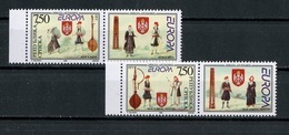 Europa CEPT Bosnie Herzégovine - Bosnia - Bosnien 1998 Y&T N°105 à 106 - Michel N°105 à 106 *** - Avec Vignette - Europa-CEPT