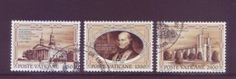 Vaticano 1989 - Gerarchia Ecclesiastica In USA, 3v Usati - Used Stamps