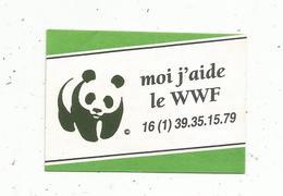 Autocollant , Moi J'aide Le WWF - Autocollants