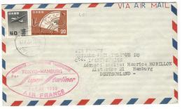 17589 - TOKYO HAMBURG 59 - Poste Aérienne