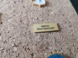 1 PINS EDF  AGENCE DAUTANCOURT PARIS - EDF GDF