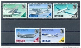 Mua223 TRANSPORT VLIEGTUIGEN WATERVLIEGTUIG DOUGLAS C-124C PLANES FLUGZEUG ANTIGUA 1970 PF/MNH - Airplanes