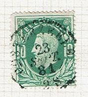 30  Obl Sc  Oosterzele  + 50  Défauts - 1869-1883 Leopold II