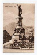 Trento - Monumento A Dante - Non Viaggiata - (FDC15565) - Trento