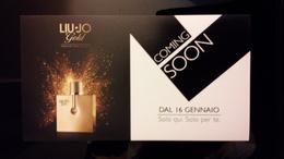 LIU-JO Parfum Carte - Perfume Cards