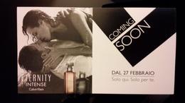 CALVIN KLEIN Eternity Parfum Carte - Perfume Cards