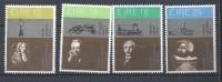 Irlande 1981 N°436/439 Neufs ** Inventeurs Irlandais - 1949-... République D'Irlande