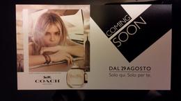 COACH New York Parfum Carte - Perfume Cards