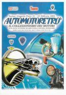 [DC0565] CPM - AUTOMOTORETRO' MOSTRA IL COLLEZIONISMO DEI MOTORI - TORINO LINGOTTO - CARTOLINEA 565 - Non Viaggiata - Cartoline