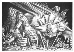 Bernard VEYRI - Caricature De Monstre - Hommage à H.P. Lovecraft - Veyri, Bernard
