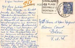 PIE.LOT CH-19-4978 : DAGUIN. CAVALAIRE. VAR. - Mechanical Postmarks (Other)