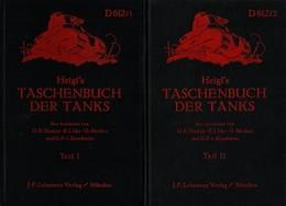 TASCHENBUCH DER TANKS PANZER CHAR VEHICULES BLINDES 1935 IDENTIFICATION MONDE ENTIER - Vehicles