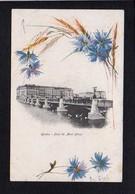 Suisse / Genève / Pont Du Mont Blanc /  Fleurs,signée Mary Goloy Ou. Illustrateur à Identifier ) - GE Genève