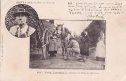 YVON LECLOHEC          LE REBOUTEUX      SOIGNANT UN CHEVAL       POEME DE BOTREL     PRECURSEUR - Bretagne