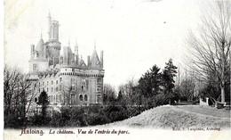 Belgique  . ANTOING  -  LE CHATEAU   . VUE DE L' ENTREE  DU PARC - Antoing