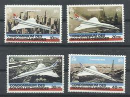 NOUVELLES HEBRIDES  YVERT  527/30   MNH  ** - Leyenda Francesa