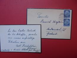 3eme REICH 1942 - Briefe U. Dokumente