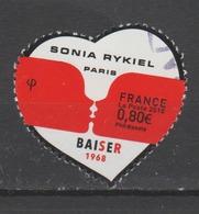 """FRANCE / 2018 / Y&T N° 5198 : """"Coeurs Sonia Rykiel"""" (Baiser) - Choisi - Cachet Rond - Oblitérés"""