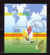 32f * GUINEA-BISSAU BLOCK * OLYMPIA 1984  * GESTEMPELT ** !! - Guinea-Bissau