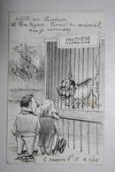 Carte Satirique - De Molynk - Crayon N ° 11 -  ( Panthère Allemande ) - Satirical