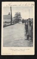 FURSAC: ORAGE DU 30 MAI 1911 - LA ROUTE DE GUERET SUBMERGEE - France