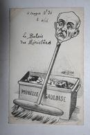 Carte Satirique - De Molynk - Crayon N ° 36  -  ( Le Balais Des Ministères) - Satirical