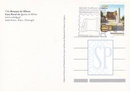 Postal Ruínas Milreu Estoi Algarve Roman Rovine Ruines Romaines Archeology Archéologie Núcleo Filatélico Philatelic Club - Tarjetas – Máximo