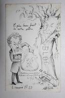 Carte Satirique - De Molynk - Crayon N ° 20   - - Satirical