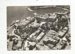 Cp , MONACO , MONTE CARLO ,  Vue Aérienne,  Voyagée 1967 , Ed. Combier - Monte-Carlo