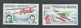 GABON YVERT  AEREO  232/33    MNH  ** - Gabón (1960-...)