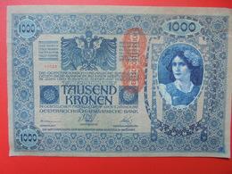 AUTRICHE 1000 KRONEN 1919/1902 CIRCULER BONNE QUALITE (B.1) - Autriche