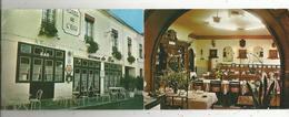 Double Cp , Hotels & Restaurants , Hôtel Relais De L'ECU ,  37 ,  CHATEAU LA VALLIERE ,2 Scans - Hotels & Restaurants