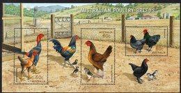 AUSTRALIA, 2013 POULTRY BREEDS MINISHEET MNH - Nuovi