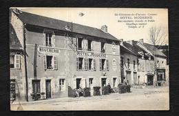 ST ETIENNE DE FURSAC: HOTEL MODERNE - France