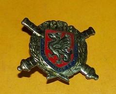 19° Régiment D'Artillerie, Dragon Gravé, FABRICANT DRAGO PARIS,HOMOLOGATION 323, ETAT VOIR PHOTO  . POUR TOUT RENSEIGNEM - Armée De Terre