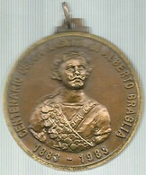 Modena 1983 Società Panaro, Centenario Della Nascita Di Alberto Braglia, Ae. Smaltato, Gr. 30, Cm. 4. - Italia