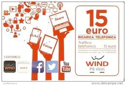 *ITALIA - WIND* - Ricarica Usata (sc. 31/12/2019) - Schede GSM, Prepagate & Ricariche