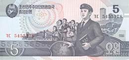 5 Wong Nordkorea 1987 - Korea (Nord-)