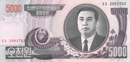 5000 Wong Nordkorea 2008 - Korea, North