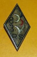 83° Régiment De Soutien, Dos Guilloché Embouti,FABRICANT DRAGO PARIS ,HOMOLOGATION 2273, ETAT VOIR PHOTO  . POUR TOUT RE - Armée De Terre