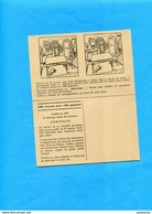 """Carte Double- Pub-montres Suisses-""""GREVILLE""""-illustrée Avec Jeu Concours Des Erreurs-années 60 - Publicité"""