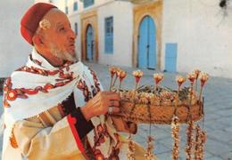 Tunisie - SIDI-BOU-SAÏD - Le Marchand De Jasmin - Tunesië