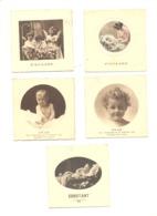 Faire-part De Baptême Famille Mileur VERVIERS 1931 Et 34 / GRAND - RECHAIN 1933 - 5 Pièces (van) - Naissance & Baptême