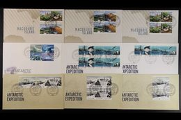 2010-2014 FIRST DAY COVERS DAVIS STATION Superb Collection Of Illustrated Unaddressed All Different First Day Covers Can - Australian Antarctic Territory (AAT)