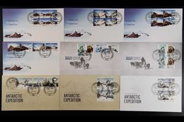 2010-2014 FIRST DAY COVERS CASEY STATION Superb Collection Of Illustrated Unaddressed All Different First Day Covers Can - Australian Antarctic Territory (AAT)