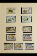 1968-1973 ALL DIFFERENT COLLECTION Never Hinged Mint And Very Fine Used. With 1968 Overprinted Definitive Sets Both Neve - British Indian Ocean Territory (BIOT)