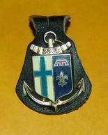 53° Groupement Divisionnaire, Sigle GD, Dos Lisse, 2 Pontets,FABRICANT DRAGO PARIS ,HOMOLOGATION 2802, ETAT VOIR PHOTO - Esercito