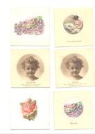 Faire-part De Baptême  VERVIERS, DISON, ANDRIMONT Et GRAND-RECHAIN 1931 à 1937 - 6 Pièces (van) - Naissance & Baptême