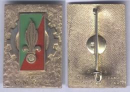Insigne De La 3e Compagnie Moyenne De Réparation De La Légion Etrangère - Armée De Terre